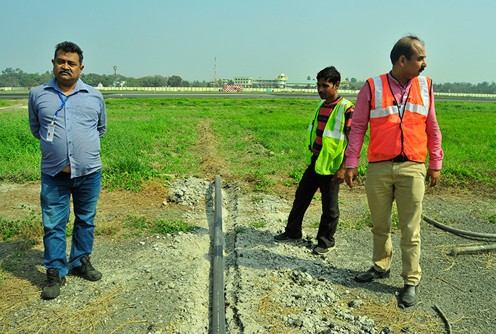 Installation of PE Pipes at NSCBI Airport
