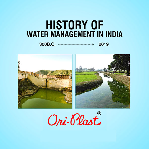 A Brief History of Water Management in India
