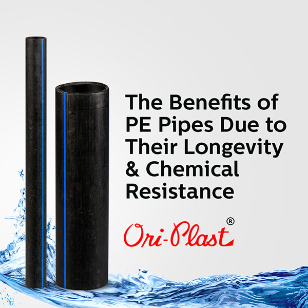 The Benefits of PE Pipes Due to Their Longevity & Chemical Resistance