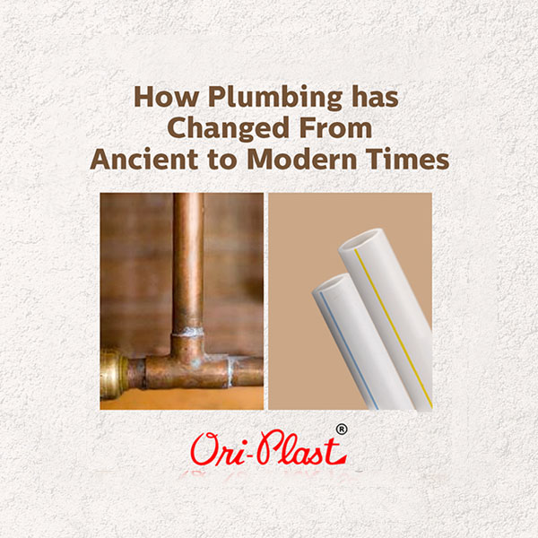 How Plumbing Has Changed From Ancient to Modern Times