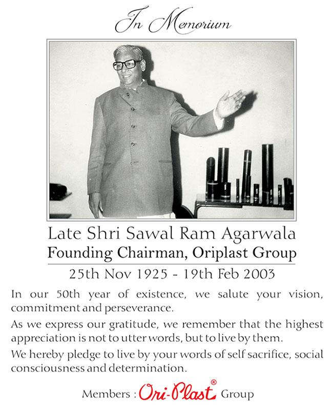Oriplast Press Release