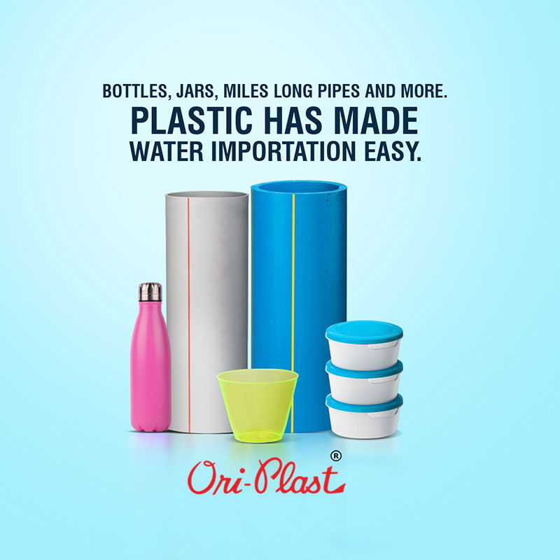 The Role of Plastics in Making Water Easily Available to All