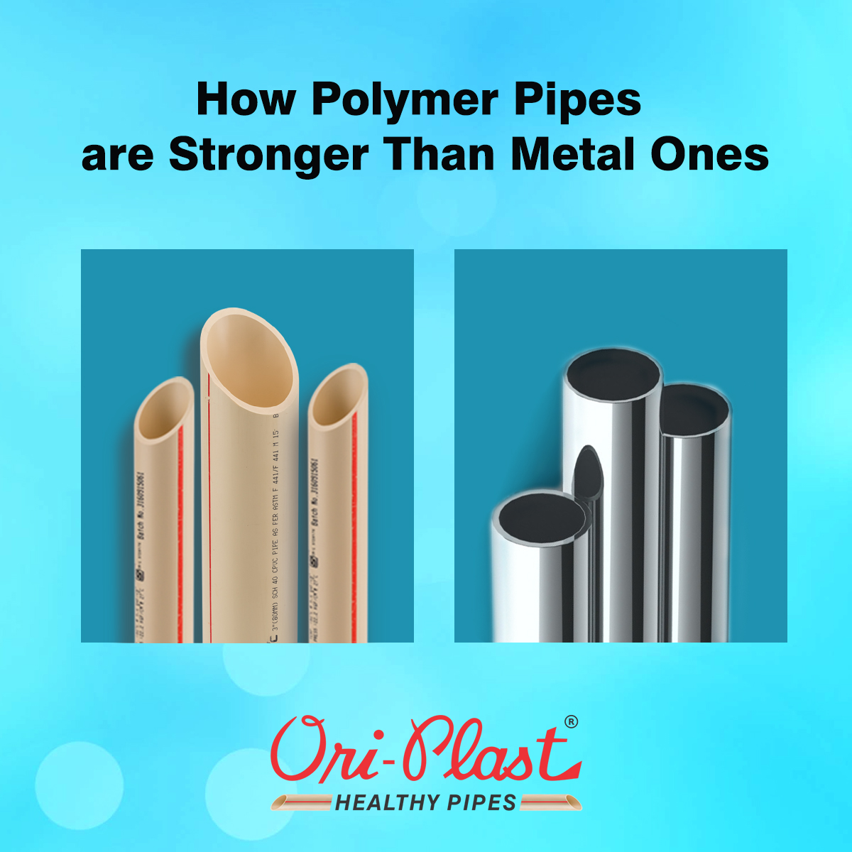 How Polymer Pipes are Stronger Than Metal Ones