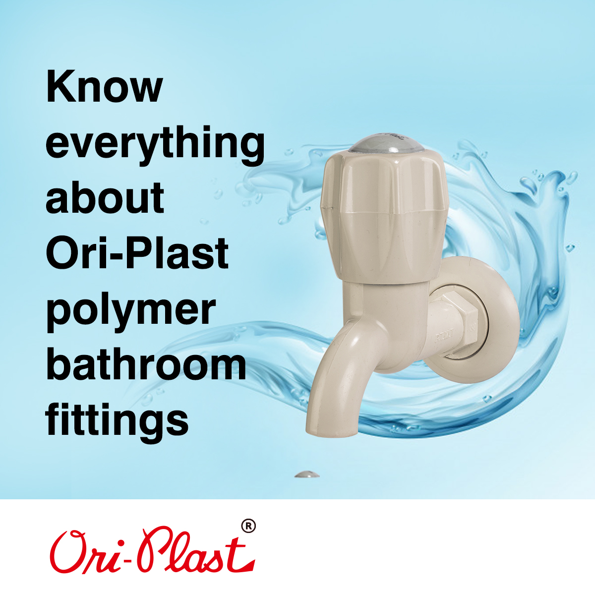 Know everything about Ori-Plast polymer bathroom fittings