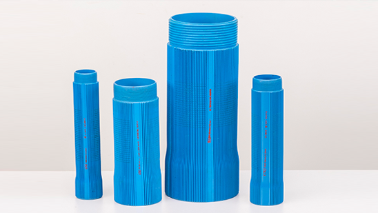 Borewell Pipes Screen Ribbed