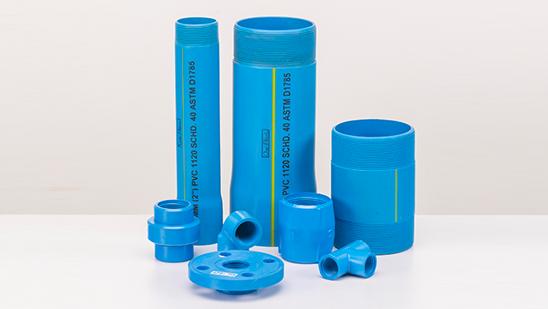 Oriplast PVC pipes
