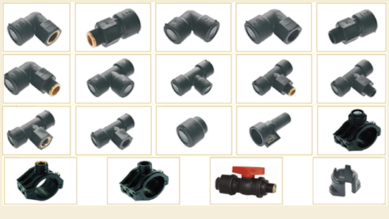 PERT Pipes & Fittings