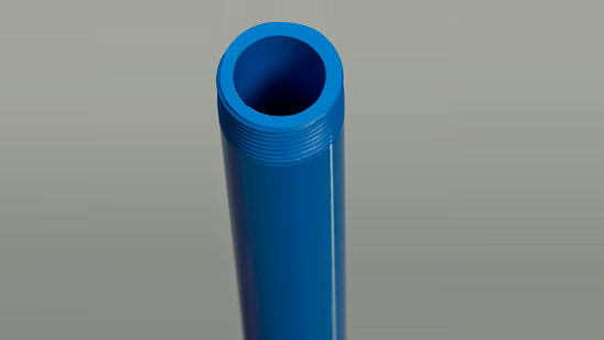 UPVC Threaded Blue Pipes